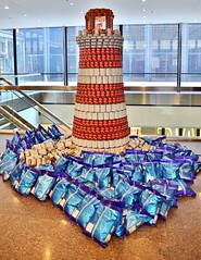 BeaCAN of Hope, Canstruction 2017, TD Centre, Toronto, ON (Snuffy) Tags: beacanofhope canstruction2017 tdcentre torontodominioncentre toronto ontario canada level1photographyforrecreation