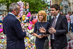 Remembrance (Explored 26-05-17) (Fermat48) Tags: manchester terror attack stannssquare may25th2017 lordmayor greatermanchester andyburnham baronessbeverleyhughes oneminutessilence arena victims