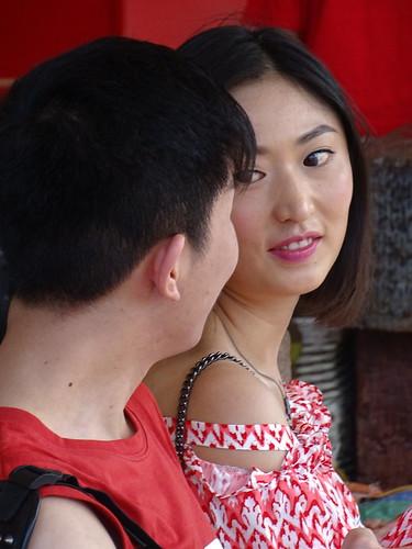 Couple at Train Station - Hua Hin - Thailand