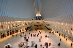 Oculus (Nihil Baxter007) Tags: new york city nyc shopping tiltshift port authority transhudson path trainstaion subway ubahn manhattan