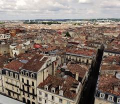 Bordeaux vu de haut<>View on Bordeaux. (France-♥) Tags: bordeaux france voyage ville 911 vue city roofs