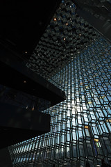 Vertical Harpa (nydavid1234) Tags: nikon d600 nydavid1234 reykjavik harpa iceland abstract architecture architectural detail glass building landmark shadow shadows interior architecturaldetail