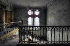Main staircase hall (JG - Instants of light) Tags: house old antique window light creepy decay abandoned forgotten vandalized beauty dark escadaria casa antigo janela luz arrepiante decair abandonado esquecido vandalizado sombrio urbex nikon d5500 sigma 1020 portugal