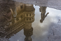 Reflection Of the Past (Arpa Ghosh) Tags: charminar history laad bazar market telangana hyderabad tourism india canon 121clicks heritage nizam qutub