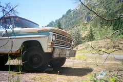 Underwood, Washington. 5.18.17. (Nothing Signified) Tags: washington washingtonstate skamaniacounty skamania underwood skamaniacountywashington underwoodwashington truck oldtruck rustytruck woodenbumper columbiarivergorge columbiariver thegorge danwatsonphotography nothingsignified america americana west western pacificnorthwest trees autoanthropology stephenshore americansurfaces wimwenders democraticforest newtopographics olympusxa olympusxarangefinderfilmcamera olympusxacamera olympusxaphotos kodakportra400 kodakportra portra400 filmphotos analogphotos analoguephotos filmphotography analoguephotography analogphotography roadside americanroadside roadtrip roadsideamericana pacificnorthwestcars vintagecar vintagetruck antique pacificnorthwestvintagecars analoguephotoofvintagetruck analoguefilmphotography filmrangefinderphotography 35mmfilmphotography fordpickup americanpickuptruck