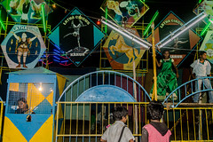 Circus | Koovagam Annual Transgender Festival 2017, Tamilnadu, India. (Vijayaraj PS) Tags: india asia tamilnadu culture heritage koovagam nikon nikonofficial chennaiweekendclickers ulundurpet villupuram temple people streetphotography cwc589 street geometry children kids circus life