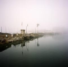 Looking different (@davidflem) Tags: plymouth devon barbican bronica sqa zenzanon kodak portra portra400 120film 120 6x6 mediumformat