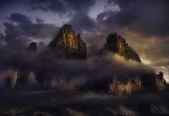 Majestic II (Maurizio51( nonno ter)) Tags: mountains clouds landscape lights italy nature nikon