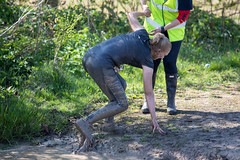 Wolfrun, Saturday 8th April 2017. (David James Clelford Photography) Tags: wolfrun saturday8thapril2017 femaleathlete sportylady wetgirl wetlady dirtygirl dirtylady ass bum buttocks butt behind rear derriere booty