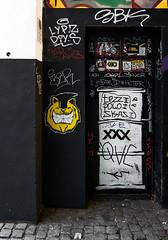 HH-Wheatpaste 3304 (cmdpirx) Tags: hamburg germany reclaim your city urban street art streetart artist kuenstler graffiti aerosol spray can paint piece painting drawing colour color farbe spraydose dose marker stift kreide chalk stencil schablone wall wand nikon d7100 paper pappe paste up pastup pastie wheatepaste wheatpaste pasted glue kleister kleber cement cutout