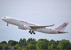 """TS-IFM, Airbus A330-243, c/n 1631, Tunisair (Société Tunisienne de l'Air), """"Tunis"""", ORY/LFPO, 2017-06-04, off runway 24/06. (alaindurandpatrick) Tags: tsifm cn1631 a330 a330200 a332 airbus airbusa330 airbusa330200 jetliners airliners tu tar tunair tunisair sociététunisiennedelair airlines airlinesoftunisia airlinesofafrica ory lfpo parisorly airports aviationphotography"""