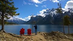 Majestic View (digital_lightexpress) Tags: lakeview mountains banff banffnationalpark banffmountainssummitcanadian panoramic panorama canadianrockies