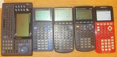 TI-92.TI-81TI-i83.TI-89.TI-84PlusCe (rickpaulos) Tags: ti graphing calculator