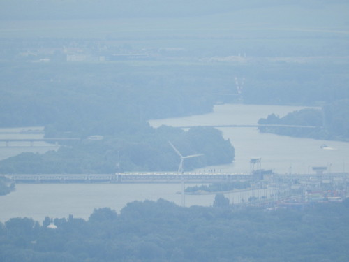 South-east end of the Donauinsel (Danube Island, Habsburgwarte)