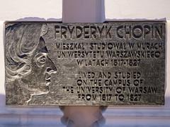 Frederic Chopin... was here, Warsaw, Poland (msadurski) Tags: lumix gm5 night warsaw warszawa poland chopin 1232