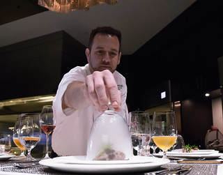 Chef Corbin Unveiling the 2nd Course