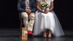 Je Commence Les Livres Par La Fin (○gus○) Tags: nikond750 1050mm dc afdcnikkor105mmf2d ƒ28 1400 wedding matrimonio shoes scarpe gold oro ch ʂ