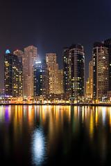 Dubai-Marina Bay (Ashmalikphotography) Tags: dubai dxb marinabay longexposure longexposurephotography nomoon dubaihasitsownmoon cityscape architecture moderndayarchitecture