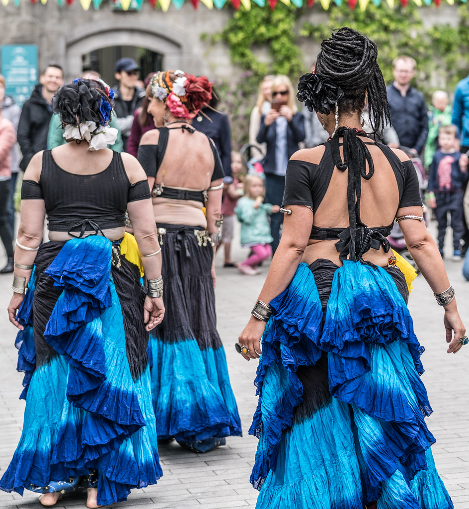 The Zoryanna Dance Troupe Tribal Belly Dancing [Africa Day 2017 Dublin]-129048