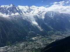 Chamonix, Mont Blanc, Aiguille du Midi and Glacier des Bossons. France. (elsa11) Tags: montblanc aiguilledumidi glacierdesbossons alpen alps gletscher glacier snow sneeuw chamonix lebrevent montblancmassif montblancmassief france frankrijk hartesavoie auvergnerhônealpes glacierdetaconnaz explore