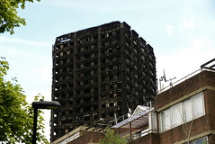 Grenfell Tower (ChiralJon) Tags: london charred remains fire incident building flats gb news architecture londres londra noticias nouvelles borough kensington londen nieuws notizia grenfell tower