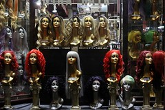 Wigs !!!!! - New York 2016 (Dis da fi we (was Hickatee)) Tags: new york 2016 wig wigs