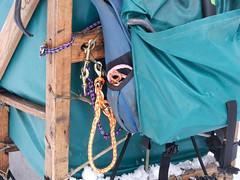 Back of the sled (lmundy2002) Tags: dogs dogsled dogsledding huskies sleds whitefish olney whitefishmt olneymt montana mt winter wintersports