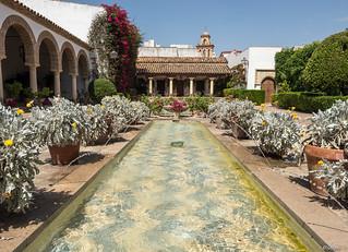 Patio of Palace of Viana.Cordoba. Spain.