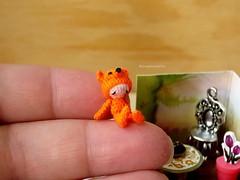 43-fox 17mm (1) (tinyteensdolls) Tags: amigurumi artdoll amigurumidoll amigurumifox fox foxy babyfox cutefox crochet craft crochetmini crochettoy crochetdoll crochetminiature crochetfox toy tinyamigurumi threadcrochet tiny tinyfox redfox orange dollhouseminiature dollhouseminiatures doll