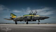 """ Eyes In Time "" (simonjohnsonphotography.uk) Tags: nikonaviation aircraft nikon airforce aviation rf4e jet simonjohnsonphotographyuk hellenicairforce phantom phantomii spook larissa greekairforce"