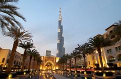 Burj Khalifa + Souq Al Bahar (Dubai) (rogelio g arcangel) Tags: cityscape city travelphotography canonphotography canon bluehour architecture middleeast asiatravel asia travel soukalbahar burjkhalifa uae dubai