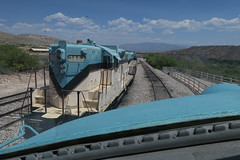 Arizona Central Power (Arrowhead Fan) Tags: verdecanyonrailroad vcrr 1510 fp7 clarkdaleaz emd arizona central railroad