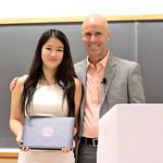 Yi Zhao, Christopher Wickens Award; Professor Daniel Simons