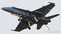 McDonnell Douglas EF-18A Hornet C15-24 (15-11) | Bucharest International Air Show 2016 (Horatiu Goanta Aviation Photography) Tags: mcdonnell douglas mcdonnelldouglas mdd boeing f18 hornet mdhornet f18hornet fighterbomber strike supersonic combat afterburner reheat fighter subsonic jet jetengine turbine turbofan turbojet military militaryaviation aviation aerospace fighterjet jetfighter fastjet nato burner fa18a f18a ef18a spaf spanishairforce bucharestinternationalairshow bias bucharestbaneasa baneasa bbu lrbs display aerobatics airshow internationalairshow aircraft airplane horatiu goanta horatiugoanta bias2016 bucharestairshow2016 bucharestinternationalairshow2016 otplrop bbulrbs arrestorhook landinggear