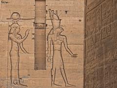 The Temple of Isis (Karnevil) Tags: africa egypt luxor thebes philae templeofisis horus isis ramessesii upperegypt valleyofthekings thebanhills eastvalley westofthenile thebannecropolis royalnecropolis pharaohs worldheritagesite agilkiaisland lakenasser aswanlowdam nubia aswandam egyptianhieroglyphs hieroglyphs ramesses nineteenthdynasty 19thdynasty lx100 panasonic petekreps