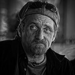 Drummer Man (Jim-Mooney) Tags: bw black white blackandwhite blackwhite mono monochrome monotone streetphotography people portrait kansascity candid