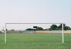Empty (awaylastdays) Tags: nikon nikonf70 nikkor 50mm agfa vista expired film stadium summer sun shadows minimalism minimal ukraine ua outdoor color colors sky uman