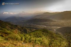 sarangkot- sunrise-31 p logo (anindya0909) Tags: nepal sarangkot sunise sunrise