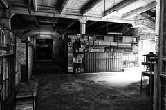 Flea market empty (Jaime Recabal) Tags: canon 40d recabal santiago pulguero biobio fleamarket blackandwhite blancoynegro monochrome barriofranklin persa empty