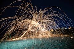 fireworks (AngelBeil) Tags: fireworks sparklers bethanybeach longexposure
