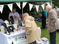 Fundraising at Dulwich Park Fair