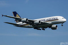 Singapore Airlines --- Airbus A380 --- 9V-SKP (Drinu C) Tags: adrianciliaphotography sony dsc rx10iii rx10 mk3 fra eddf plane aircraft aviation singaporeairlines airbus a380 9vskp