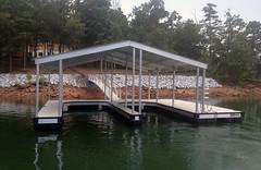 Double Slip Gable Roof Docks