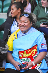 Fiji Fan (cloudwalker_3) Tags: adults britain british championships colourful competitions competitive contests england english european events fans fields fij fiji fijians flags games greatbritain green grinning grins grounds hsbc hsbcworldrugbysevensseries image international irb irbsevensworldseries leagues london males man match matches men nationals outdoor photo photograph pic picture republicoffiji rfc rfu rugby rugbyfootball rugbyfootballunion rugbyunion rugby7 series sevens sevensworldseries smiles smiling sporting sportive sports stadiums supporters tournaments twickenham uk union unitedkingdom
