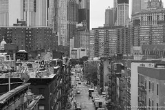 Concrete Jungle (Kevin Shields Photography) Tags: new york city nyc graffiti building buildings black white blackwhite concrete jungle