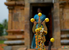 DEVOTION ON THE KNIFE EDGE (GOPAN G. NAIR [ GOPS Photography ]) Tags: gopsorg gopangnair gops gopsphotography gopan photography religious religion india hindu hinduism lemon trident temple