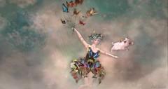 When pigs fly (roxi firanelli) Tags: boudoir halfdeer wasabipills vco coco doll butterflies secondlife
