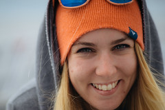 All Smiles (JeffAmantea) Tags: girl toque blonde smile beauty teeth outdoor outside nature tofino bc british columbia canada vancouver island sony a7ii nikkor nikon 100mm 28 metabones adventure camp camping pacific rim national park west coast ocean beach