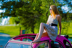 """A girl and her car • <a style=""""font-size:0.8em;"""" href=""""http://www.flickr.com/photos/126602711@N06/34840300816/"""" target=""""_blank"""">View on Flickr</a>"""