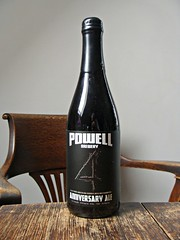 Powell Anniversary Ale (knightbefore_99) Tags: beer cerveza pivo barley wine malt camra real ale cool powell brewery vancouver eastvan delicious bottle canada bc anniversary